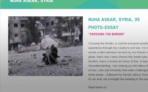 فتاة سورية تتاهل للمرحلة الاخيرة قي مسابقة عالمية لافضل قصة واقعية