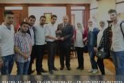 فريق خطوة يهنئ ا.د رشدي زهران على تعينه رئيسا لجامعة الاسكندرية